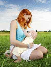 Breastfeeding Nursing Baby Breast