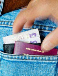 Theft Pickpockets Travel Crime Steals
